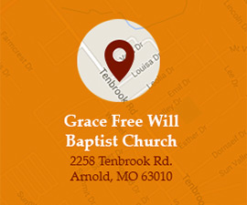 Get directions to Grace Free Will Baptist Church